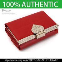 OMNIA Crystal Genuine Leather Purse Wallet-KR369M