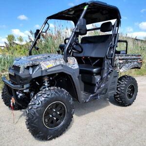 400cc Gas Golf Cart Utility Vehicle UTV ATV Quad 4 Wheeler Four Wheeler 4x4
