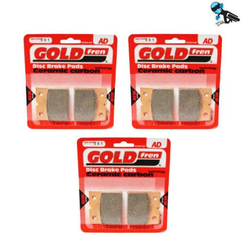 Goldfren AD Complete Brake Pad set Laverda 750 SF3 76-77
