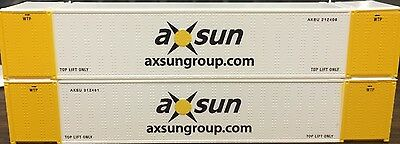 N HI-CUBE 53FT CONTAINER AXSUN 2PK 0004-053014(01)