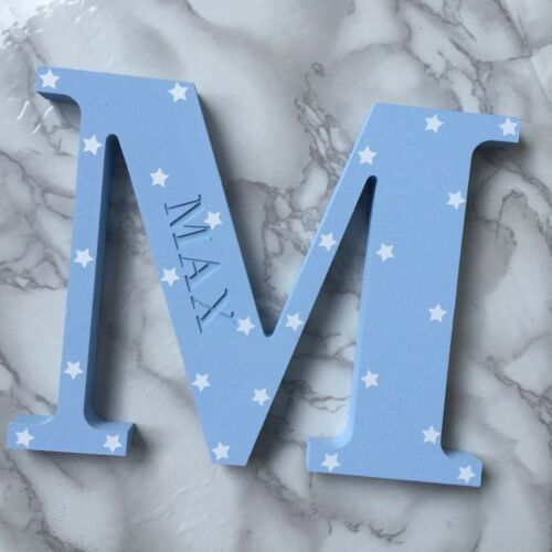 Personalised  Handmade Letter Baby Name Birth Nursery Girl Boy Christening Gifts
