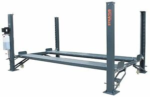 Details about Stratus 4 Post 9000 lbs Capacity Manual Release Car Lift on