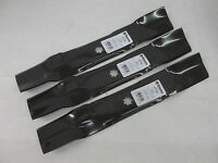 3 John Deere Mower Deck blades  D140 D150 D160 LA130, LA140 LA145, LA165, X140