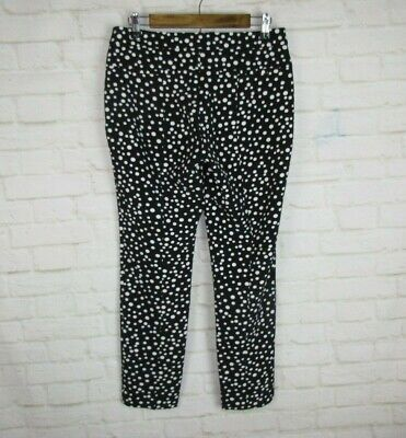 Adrianna Papell Women S Size 6 Stretch Black And White