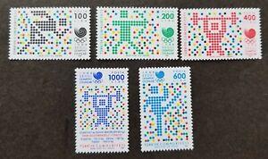 [SJ] Turkey Summer Olympic Games 1988 Sport Seoul Gymnastic Running (stamp) MNH