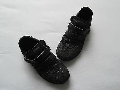 Buffalo Schuhe Gr. 40 Glitzer Sneaker raffiniert selten Hingucker schwarz