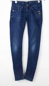 G-STAR RAW Women Lynn Skinny Stretch Jeans Size W24 L32