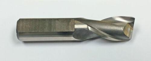 "MF421011669 .015/"" Radius 13//16/"" 2-Flute HSS CC Plunge Cut End Mill"