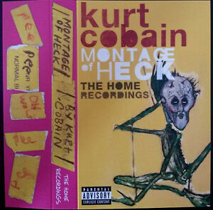 KURT-COBAIN-Montage-Of-Heck-The-Home-Recordings-2015-UK-cassette-MP3-SEALED