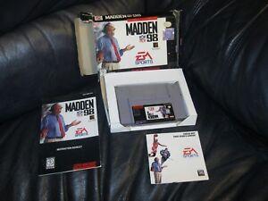 Madden-NFL-98-Super-Nintendo-SNES-Game