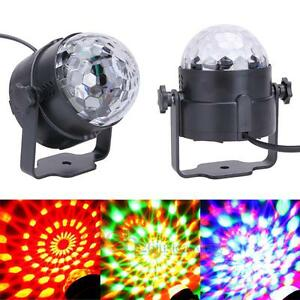 3W RGB Magic Rotating Ball Effect Led DMX Stage Lights for KTV Party Disco DJ