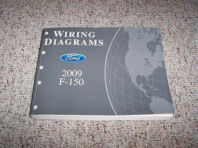 2009 Ford F150 Truck Electrical Wiring Diagram Manual Xl Stx Xlt Fx4 Lariat Ebay