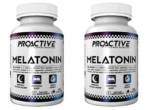 ProActive-MELATONIN-1mg-360-Tabletten-Schlaf-Gut-Schlaflosigkeit-Relax