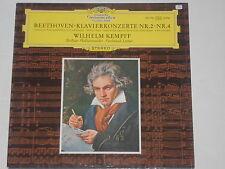 Beethoven - Wilhelm Kempff -Klavierkonzerte Nr. 2 & Nr. 4- (F. Leitner) LP