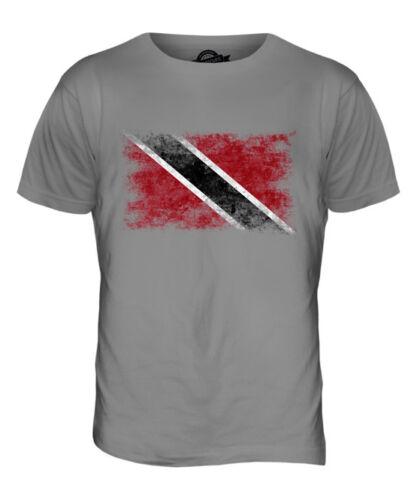 TRINIDAD AND TOBAGO DISTRESSED FLAG MENS T-SHIRT TOP TRINIDADIAN TOBAGONIAN GIFT
