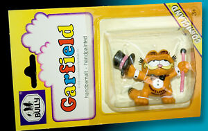 Garfield-BULLY-Comicland-1978-Blister-Pack-Ovp-Cylinder-Conferencier-Handpainted