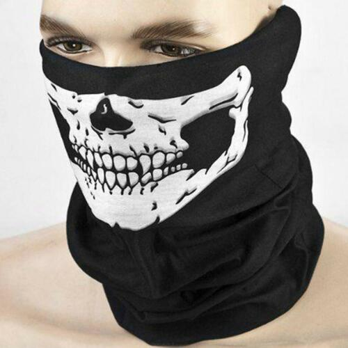 Multi-Purpose Tube Bandana Camo Skull Face Mask Neck Warmer Dust Shield Snood
