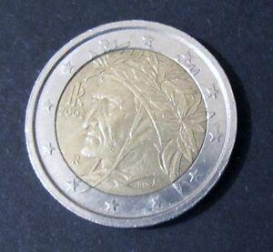 2 Euro Münze Italien Prägejahr 2002 Aus Umlauf Sammlerstück Ebay