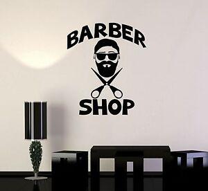 Image Is Loading Vinyl Decal Men 039 S Hairdresser Hair Salon  Part 53