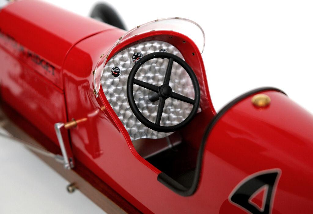 Maquette de Voiture Bantam Racer Nain Spindizzy Racer Bantam Métal Course Modèle Auto Rouge 7ffea7