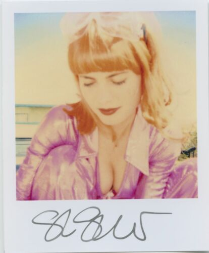 Stefanie Schneider signed Invite not mounted 3 signed Minis Record