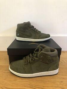Nike Air Jordan 1 Mid Olive Size UK 7