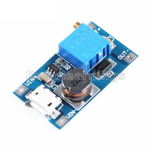10PCS 2A booster board DC-DC step-up module 2//24V to 5//9//12 28V Replace XL6009