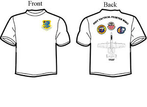 81st Tactical Fighter Wing, A-10 Squadron T-Shirt, Long or Short Sleeve