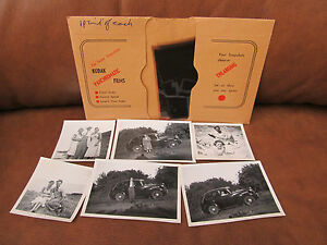 Kodak-Film-and-Negative-Wallet-1950-039-s-Family-pictures-amp-Negs-UK-P-amp-P-inc