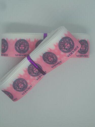 "Craft 1"" //25mm Wide 061 Designer Grosgrain Ribbon 5 Yards Hair Bow Ribbon"