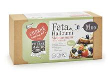 Cheese Maker's Choice Cheese Making Kit Mediterranean Feta & Halloumi vegetarian
