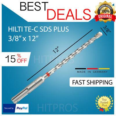 "FREE KNIFE SDS plus /_  NEW FAST SHIPPING 4 HILTI  TE-C 3//8/"" x 6"