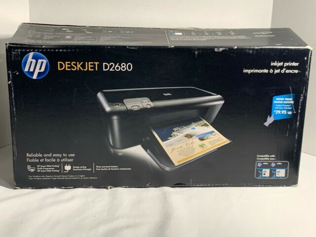 HP DeskJet D2680 Standard Inkjet Printer for sale online ...