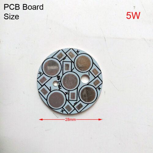 10pack bulib light Heat Sink Board for LED Beads PCB Plate Base Aluminum Base