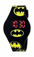 Batman Kids' Bat4146 Watch With Black Rubber Band Free Shipping