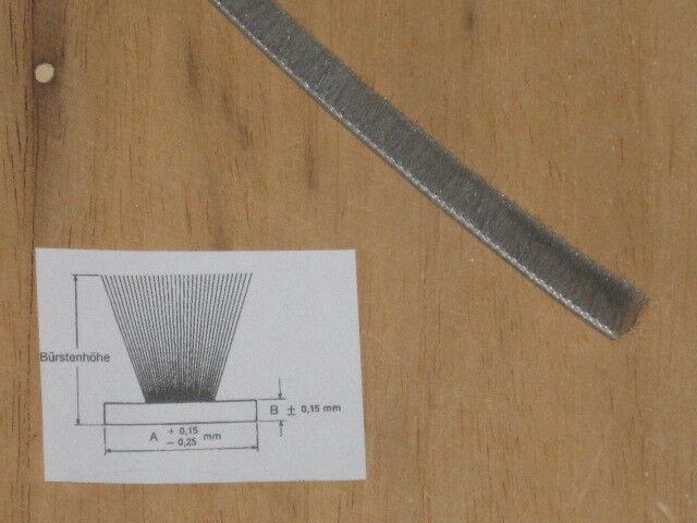 100 Meter Schlegel Schlegel Schlegel Bürstendichtung grau Typ PB-48-750 FP 4,8mm zum Einnuten | Glücklicher Startpunkt  9fbbe6