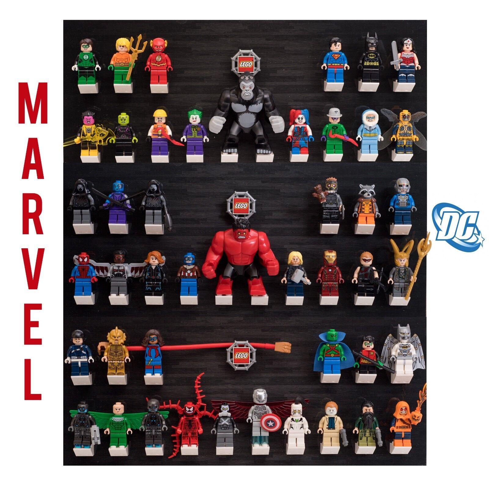 Huge Lot of 50 New Lego Minifigures - Marvel DC Superheroes - Batman - Avengers