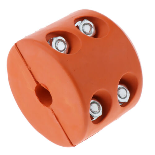 Winch Cable Hook StopperDurable /& Shock Absorbent Rubber Practical Orange