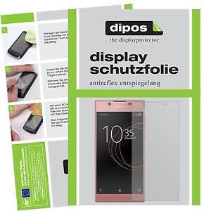 2x-Sony-Xperia-L1-Film-de-protection-d-039-ecran-protecteur-antireflet-dipos