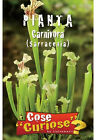 Semi/Seeds PIANTA CARNIVORA SARRACENIA