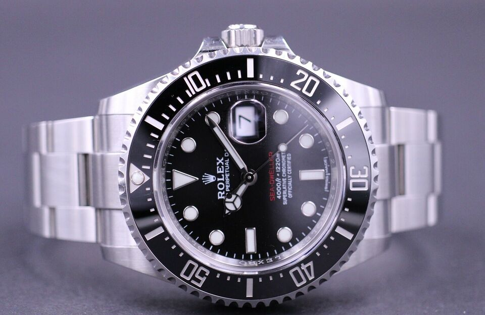 "Rolex Sea-Dweller 126600 ""MK1"" - 2017"