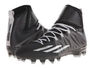 Adidas Dual Threat Mid Techfit Athletic Football Cleats S84836 Men 's 11 11.5 13