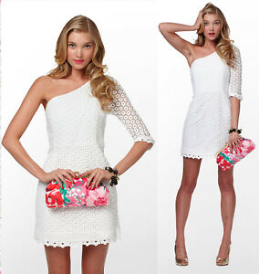 7a40095bc3  388 Lilly Pulitzer Resort White Mini Daisy Truly Lace Whitaker ...