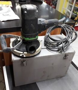 Machine à récurer rabot à beton Eibenstock EPF 1502 avec sa valise