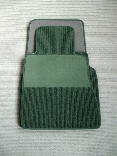 Coupe//Cabrio ab 6.98-02.06 A Rips Fußmatten Jaguar XKR=XK8//X100 PINIE Grün