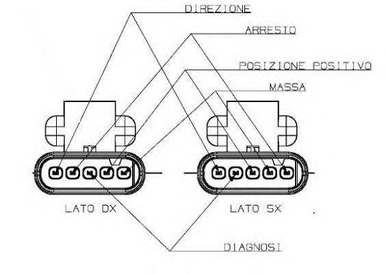 Luz trasero Dx MAGNETI MARELLI LLI411 ABARTH FIAT