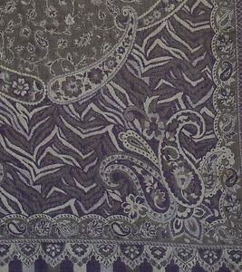 Purple-Wool-Silk-Blend-Jamavar-Shawl-Shades-of-Gold-Lilac-amp-Amethyst-72-034-x27-034