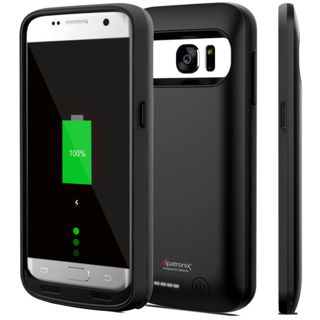 meet 45e03 3b298 Samsung Galaxy S7 Battery Case Smartphone Active External Power Bank 4500mah