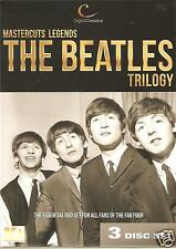 MUSIC LEGENDS MASTERCUTS LEGENDS THE BEATLES TRILOGY - 3 DVD BOX SET