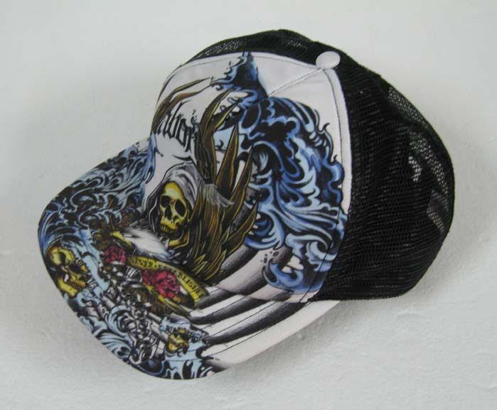 New Skull Hat Grim Leaper Black CAP Hat Skull Baseballcap 7088f8